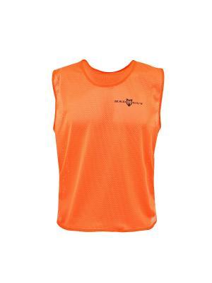 Манишка футбольная YTH MAD GUY. Цвет: оранжевый