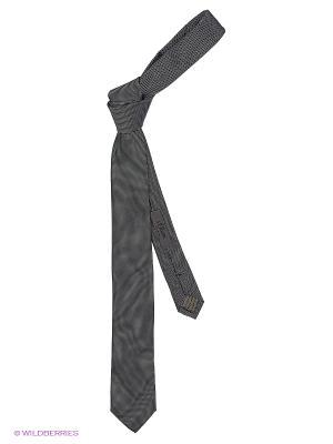 Галстук S.OLIVER. Цвет: темно-серый, кремовый, черный
