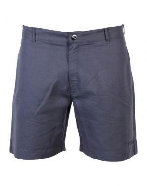 Пляжные брюки и шорты CALVIN KLEIN. Цвет: свинцово-серый