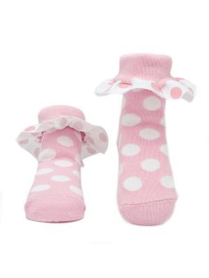 Носочки В горошек. Pretty Fashion Baby. Цвет: розовый