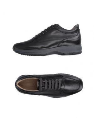 Низкие кеды и кроссовки BRUNO VERRI. Цвет: стальной серый