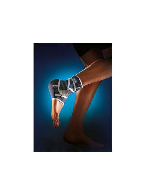 Лента для голеностопного сустава Thuasne. Цвет: синий