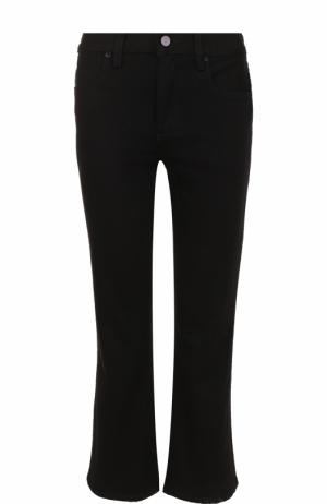 Укороченные расклешенные джинсы T by Alexander Wang. Цвет: черный