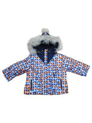 Комплект одежды АЛЕКС ЮНИС. Цвет: синий, оранжевый