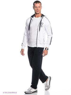 Спортивный костюм Ocean66. Цвет: белый, темно-синий