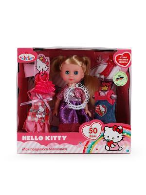 Кукла Карапуз Hello Kitty. Машенька. Цвет: фиолетовый
