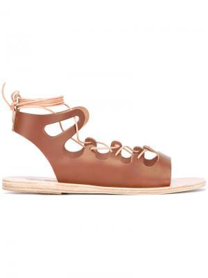 Сандалии Antigone Ancient Greek Sandals. Цвет: коричневый