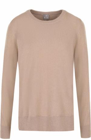 Кашемировый пуловер с бантами на спинке FTC. Цвет: бежевый