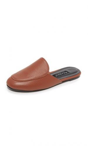 Туфли без задников Liza Newbark. Цвет: коньячный