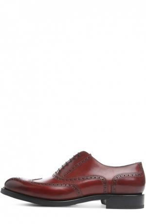 Туфли O`Keeffe. Цвет: бордовый