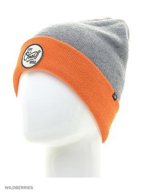 Шапка O'Neill. Цвет: серый, оранжевый