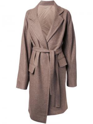 Пальто Doubleface Nehera. Цвет: коричневый