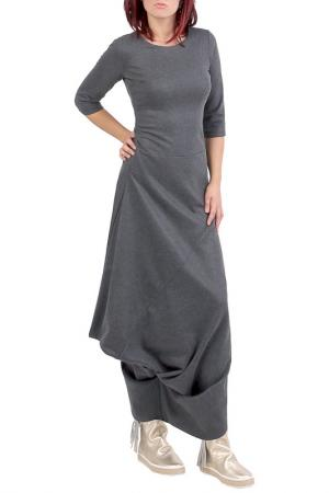Платье JUNONA. Цвет: серый
