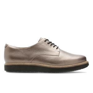 Ботинки-дерби кожаные Glick Darby CLARKS. Цвет: золотистый,черный