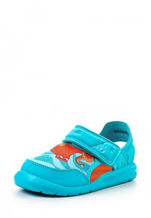 Сандалии adidas Performance. Цвет: бирюзовый