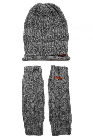 Комплект (шапка и митенки) 156928 Noryalli