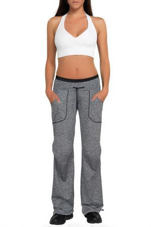 Спортивные штаны GWINNER. Цвет: серый