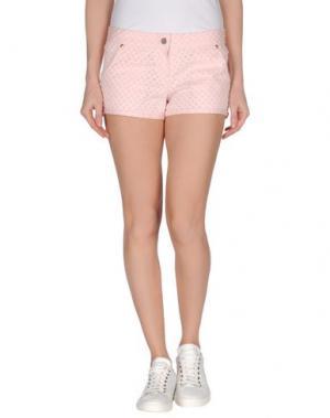 Повседневные шорты BONSUI. Цвет: розовый