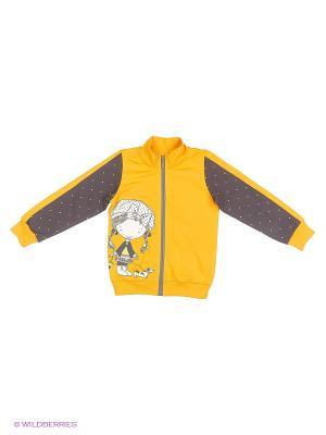 Куртка Baby Line. Цвет: светло-оранжевый