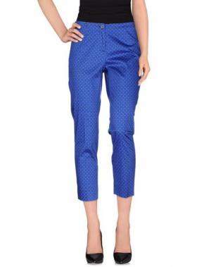 Повседневные брюки CHRISTIAN PELLIZZARI. Цвет: ярко-синий