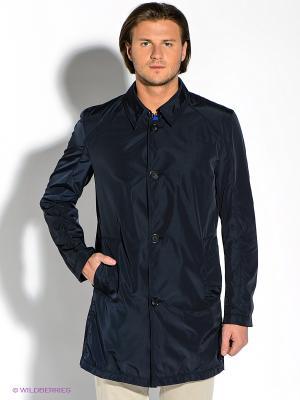 Пальто Strellson. Цвет: темно-синий