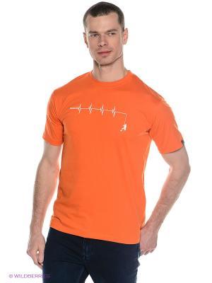 Футболка DARE 2B. Цвет: оранжевый