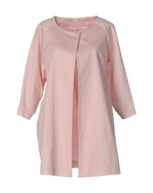 Легкое пальто GUTTHA. Цвет: розовый