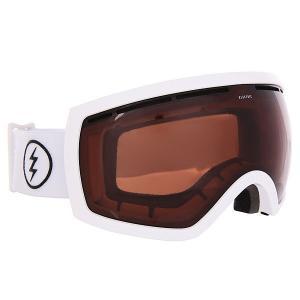 Маска для сноуборда  Eg2.5 Gloss Brose Electric. Цвет: коричневый,белый