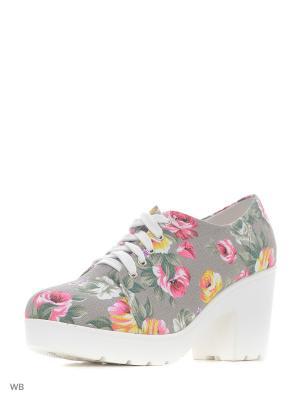 Ботинки Wilmar. Цвет: светло-зеленый