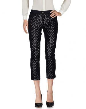 Повседневные брюки SHAFT. Цвет: черный