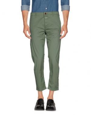 Повседневные брюки CLOSED. Цвет: зеленый