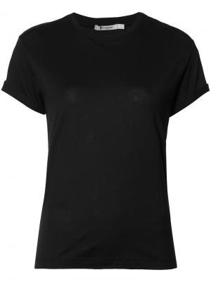 Базовая футболка T By Alexander Wang. Цвет: чёрный