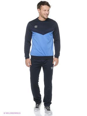 Спортивный костюм Umbro. Цвет: темно-синий, голубой