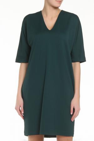 Платье SMIL. Цвет: зеленый