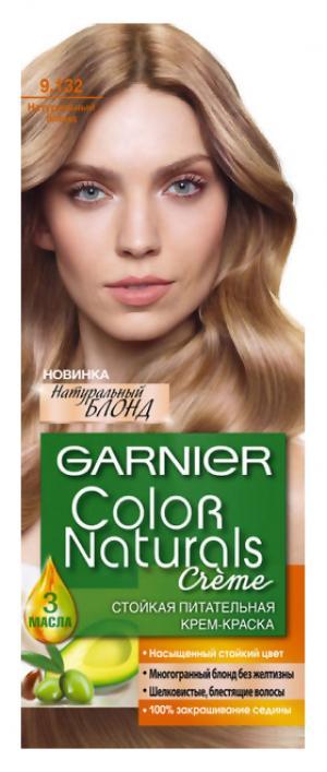 Перманентное окрашивание Garnier 9.132 Натуральный блонд. Цвет: 9.132 натуральный блонд