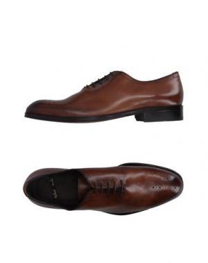 Обувь на шнурках ROLANDO STURLINI. Цвет: коричневый