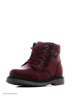 Ботинки Tesoro. Цвет: красный