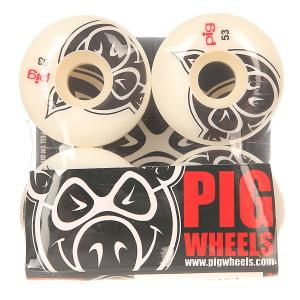 Колеса для скейтборда  Head Natural 53 mm Pig. Цвет: белый