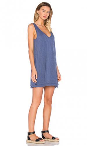 Платье allura Feel the Piece. Цвет: синий