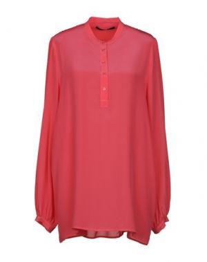 Блузка SLY010. Цвет: коралловый
