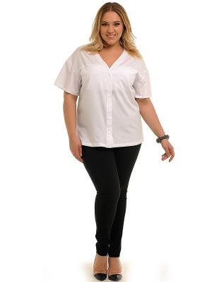 Блузка SVESTA. Цвет: белый