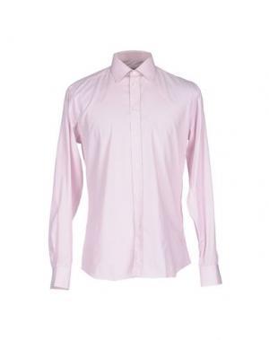 Pубашка AQUASCUTUM. Цвет: розовый