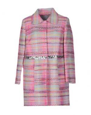 Легкое пальто GIADA BENINCASA. Цвет: розовый
