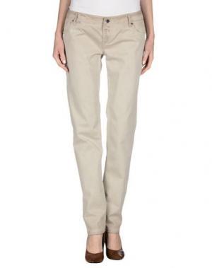 Повседневные брюки JFOUR. Цвет: светло-серый