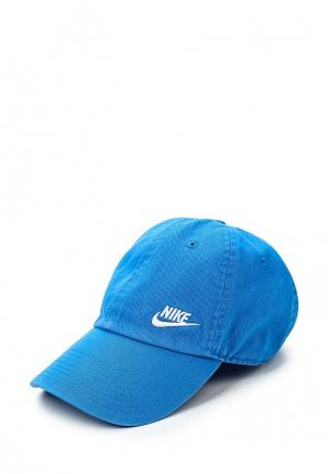Бейсболка Nike. Цвет: голубой