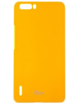Huawei Honor 6 Plus skinBOX Shield 4People. Цвет: желтый