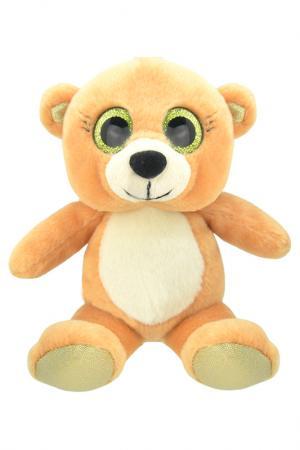 Медвежонок, 15 см WILD PLANET. Цвет: светло-коричневый