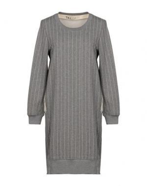 Короткое платье TILL.DA. Цвет: серый