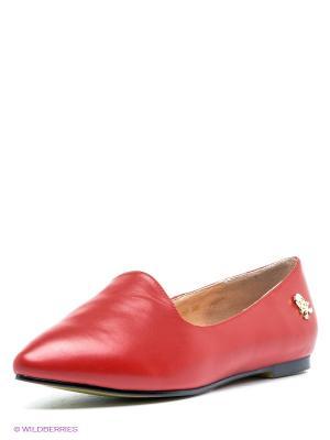 Туфли Strange. Цвет: красный