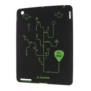 Чехол для Ipad 2  A Kssc Black Avantree. Цвет: черный,зеленый